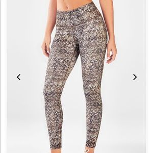 Fabletics high waisted printed power hold